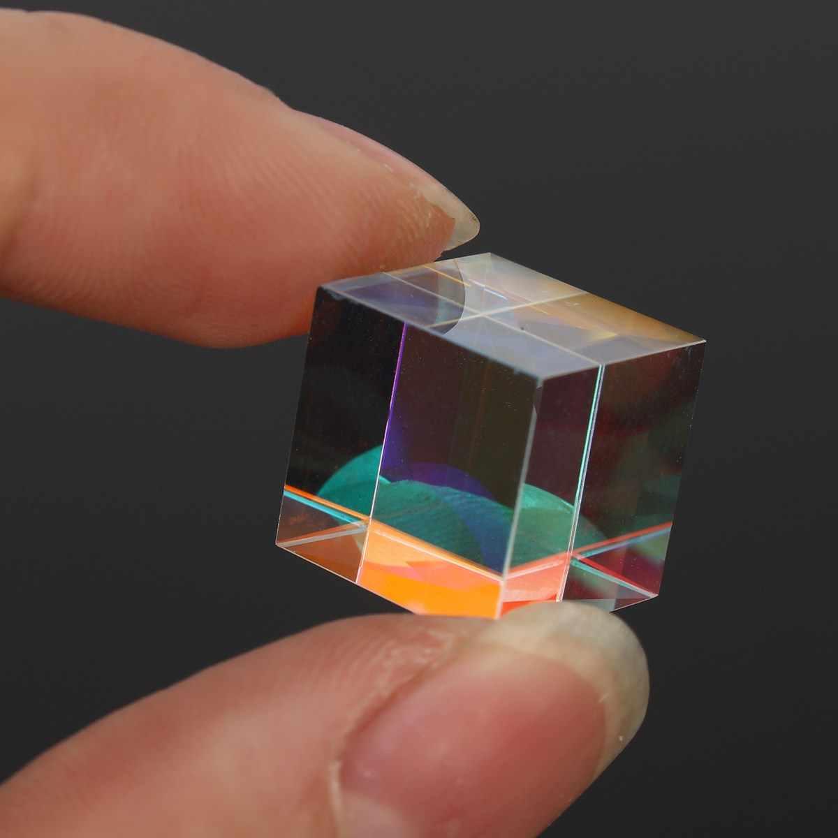 Призма лазерный луч объединить куб Призма зеркало для 405nm ~ 450nm синий лазерный диод