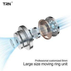 Image 5 - سماعات أذن TRN IM1 Pro 1BA 1DD هجينة داخل الأذن سماعات رياضية للركض HIFI قابلة للفصل منفصلة سماعات TRN v30 V80 IM2 V20 VK1 BT20 S2