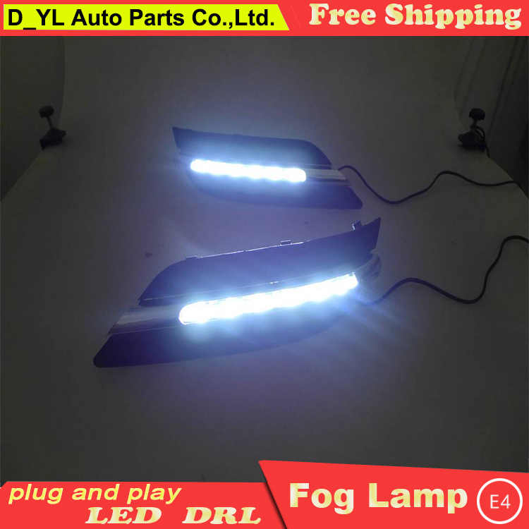 Car Styling Daytime Running Lights for B150 B170 B180 LED DRL 2009-2010 W245 LED Fog Light Front Lamp Automobile Accessories