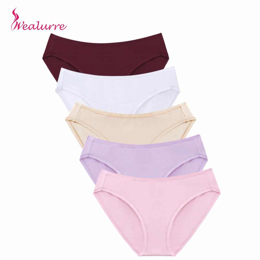 5f5155a4e78 Wealurre Soft Sexy Cotton Briefs Women Low Waist Rise Underwear Invisible Seamless  Panties Briefs Female Underpants