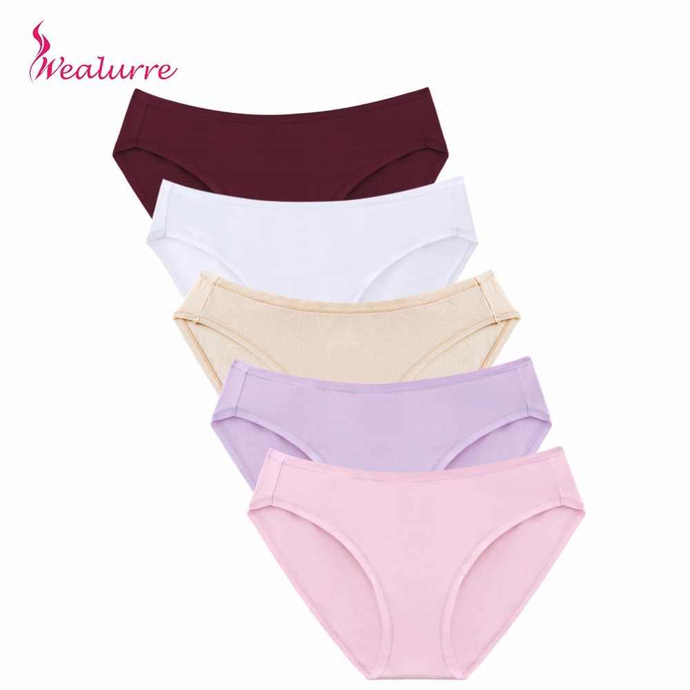 ad238d0b9b6 Wealurre Soft Sexy Cotton Briefs Women Low Waist Rise Underwear Invisible  Seamless Panties Briefs Female Underpants