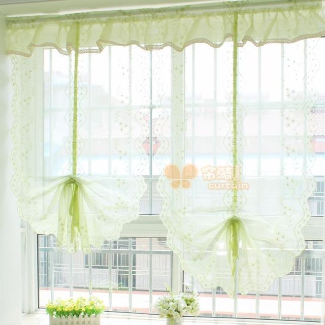 Moda estilo europeo cortina globo en forma de abanico de ventana cortinas para la sala de estar - Formas de cortinas ...