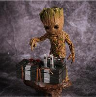 2017NEW Guardians Of The Galaxy 2 DJ Tree Man Statue Resin Figure Collectible Model Toy 18cm