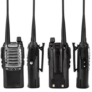 Image 2 - Baofeng Walkie talkie 8 UV 8D Geral W Alta Potência Dual Lançamento Chave 5 15 KM Comunicação À Distância Multifunções segurança Interfone