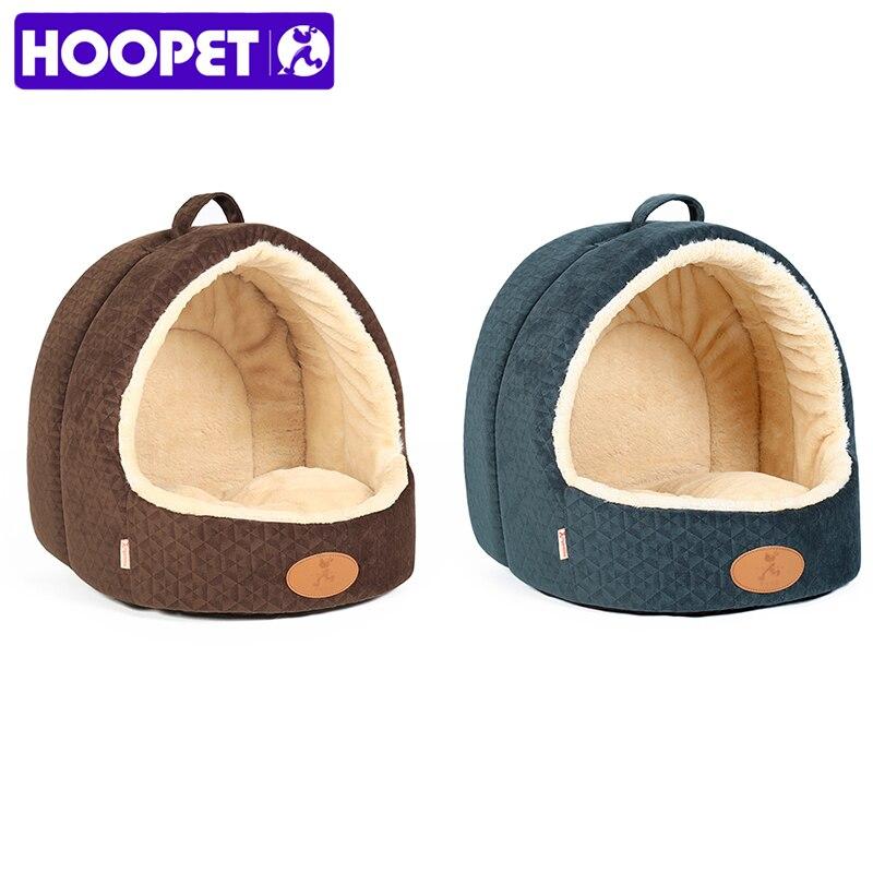 HOOPET font b Pet b font Dog Cottage House Cat Supplies Small Dog Four Seasons Universal