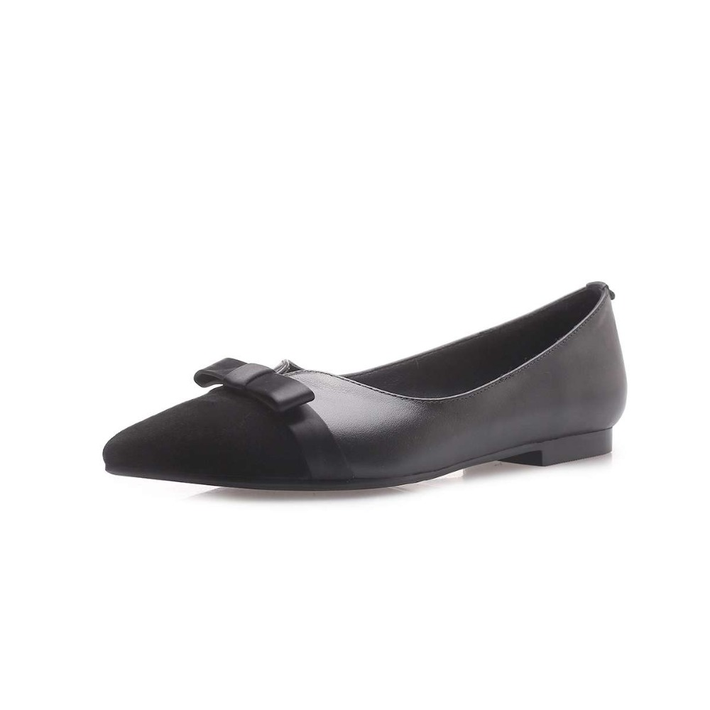 Élégant Couleurs Lady Conduite noeud Beige Confortable 2019 Mélangées Sur L90 Conception Art Chaussures noir Glissement Véritable Femme Cuir Paresseux Papillon 8dYY1xw5q