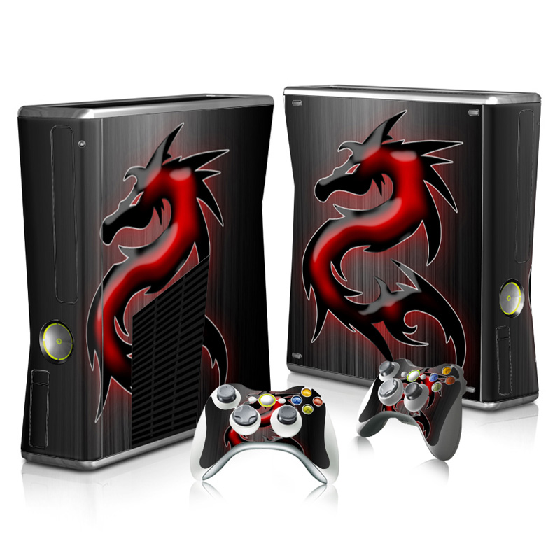 Vinyl new skin Sticker For Microsoft Xbox 360 Slim Skin Sticker Decal