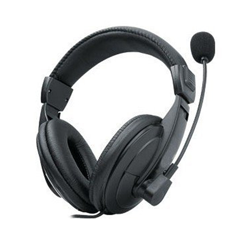 2018 New Wired Headphones Business Bass Stereo 3.5mm Headset with Microphone Mic for Game Computer PC Laptop Promotion Meeting