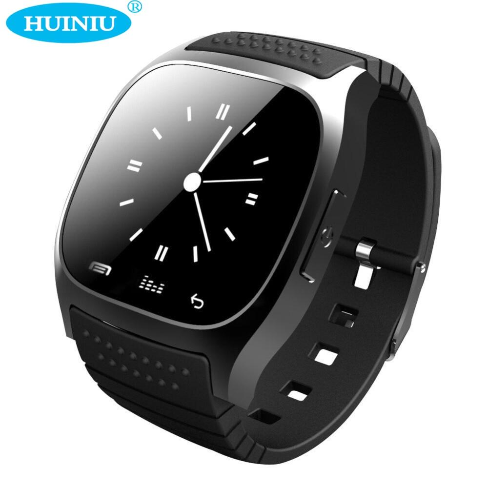 imágenes para Original Bluetooth M26 Reloj Inteligente reloj Barómetro Alitmeter Podómetro Music para Teléfonos Android pk x6 v8 smartwatch dz09 gt08