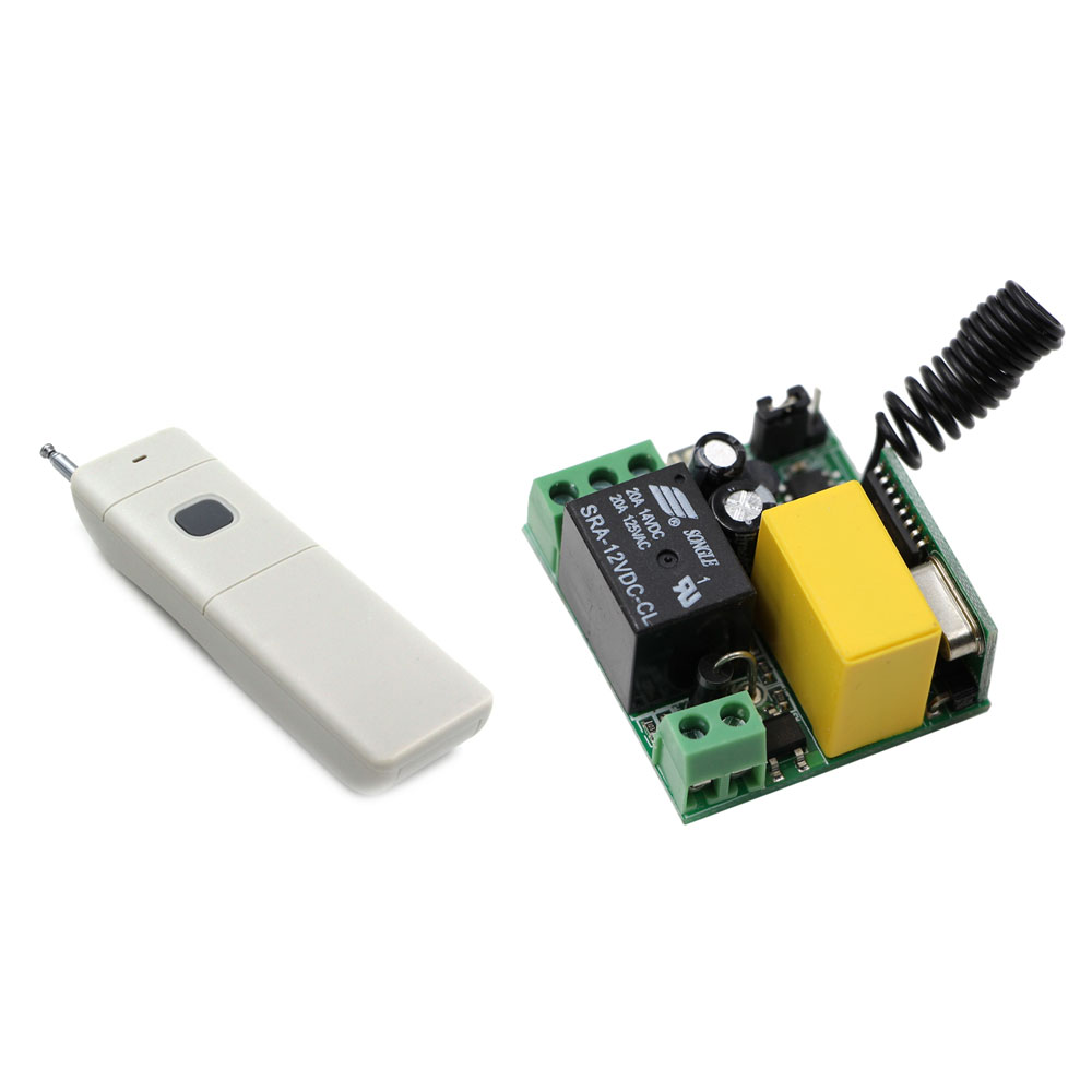 220V AC RF Wireless Remote Control Switch System Receiver & Transmitter for Light Lamp LED Water Pump Electrical Machine ON OFF dc24v 8ch rf wireless remote control switch 8 receiver