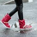 Não Zipper Botas À Prova D' Água Não-deslizamento Espessamento Homens Da Moda Ao Ar Livre Viagem Sapato Cobre Galochas Desgaste
