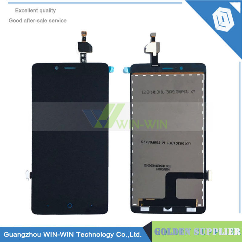 LCD Display + Touch Screen Assembly Digitizer Black For ZTE Blade G A880 LCD Display Touch Screen Digitizer Assembly replacement