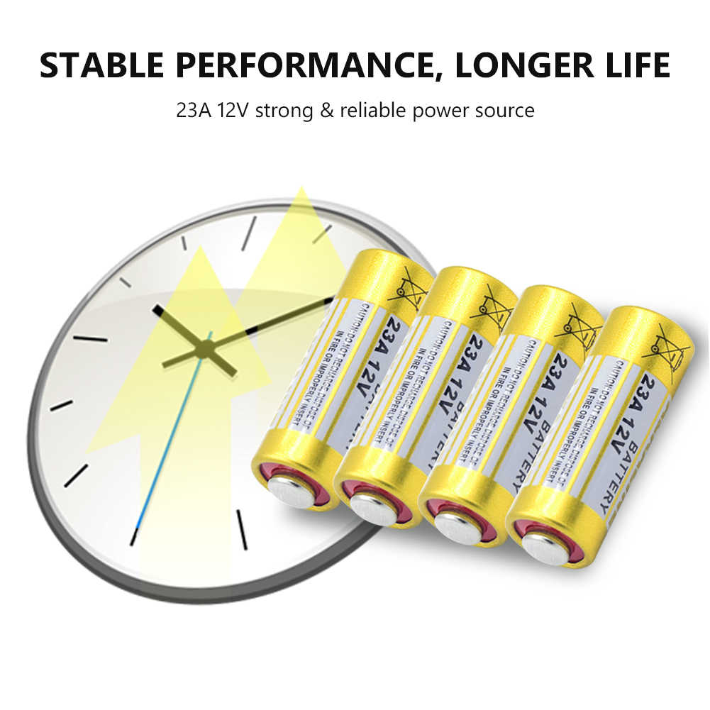 10 шт высокое Ёмкость 12v 23A 23AE 23GA A23 A23S E23A 21/23 MS21 MN21 GP23A щелочной Батарея 8F10R 8LR23 8LR923 маленький сухой аккумулятор