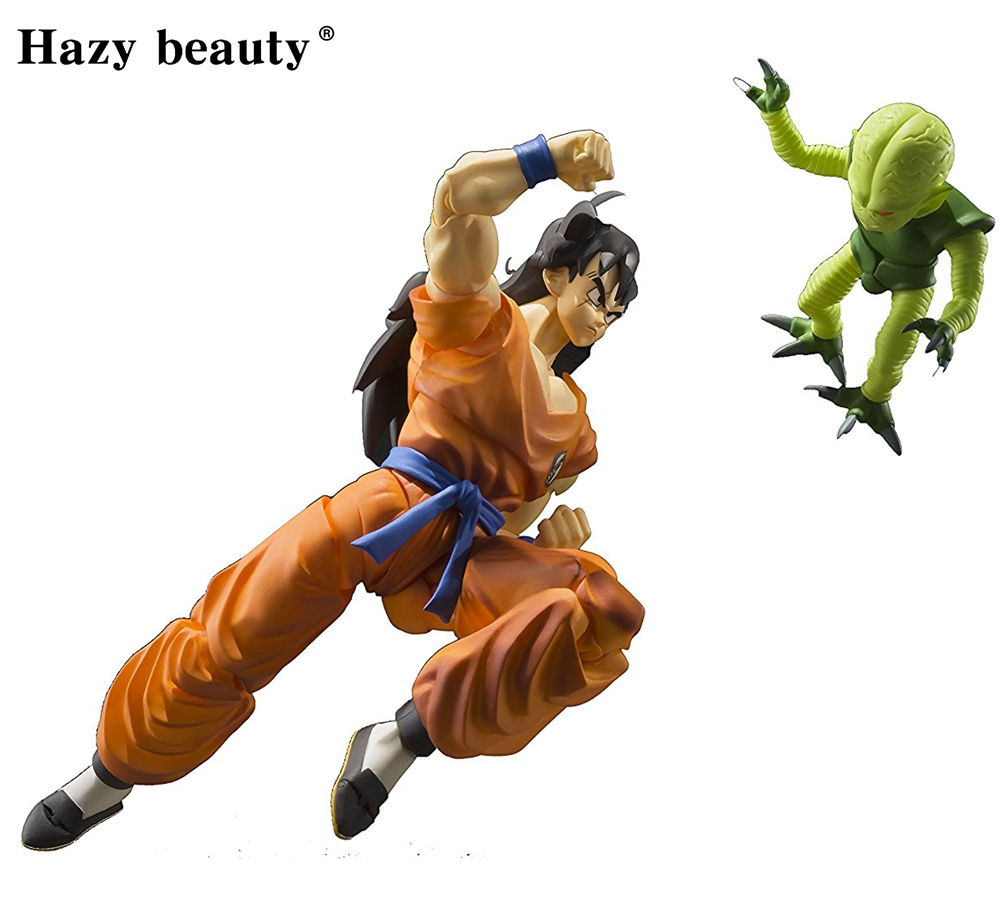 Original S.H.Figuarts Dragon ball Z DBZ SHF Yamcha PVC Action Figure Collection Model Dolls Brinquedos Figurals new original dragon ball z dbz blue god vegetto final pvc figure toys figurals model kids dolls