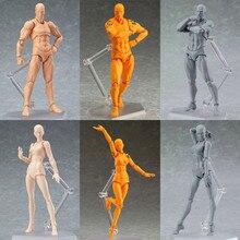 Новый стиль ню подвижные BJD куклы модель для тела для художника совместных действий Рисунок подходит для DIY Изменить BJD игрушка для человеческого тела Арт