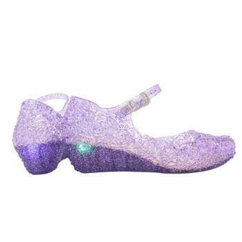 בנות נעלי זוהר סנדלי ילדים Led אור נעלי 2019 ילדי אלזה סנדלי תינוק בנות שטוח נסיכת חוף סנדלי נעליים יומיומיות