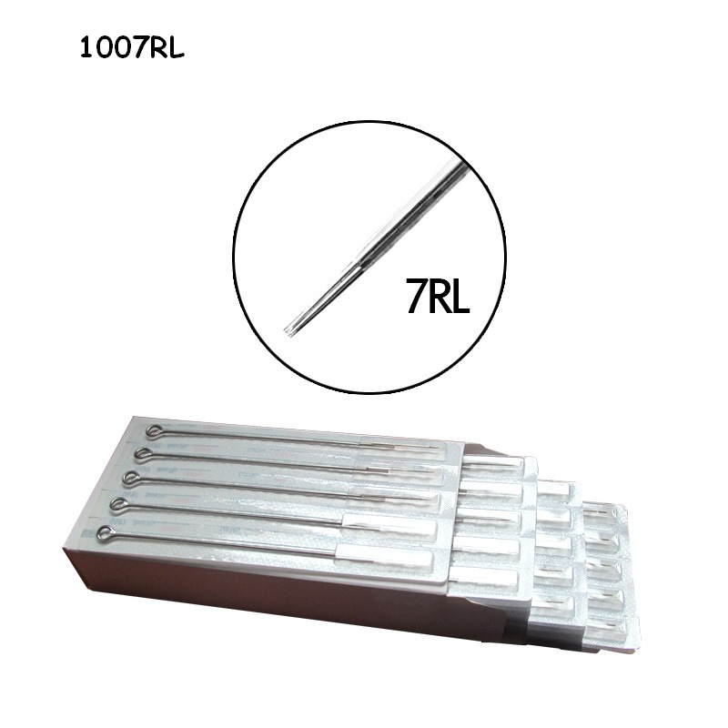 1007RL Professional Tattoo Needles Disposable Sterilze 3 Round Liner Tatoo Needles For Tattoo Machine Supply 150pcs/lot