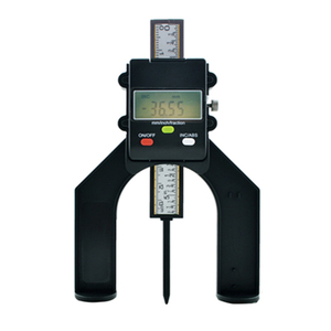 Image 3 - Digital Depth Gauge Tread Depth Gauge tester measure tool LCD Magnetic Self Standing Aperture 80mm Hand Routers