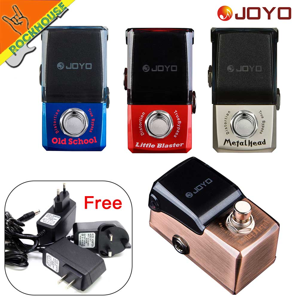 JOYO IRONMAN Distortion Guitar Effects Pedal Heavy Metal Brown Sound Tube Distortion Rock Style True Bypass