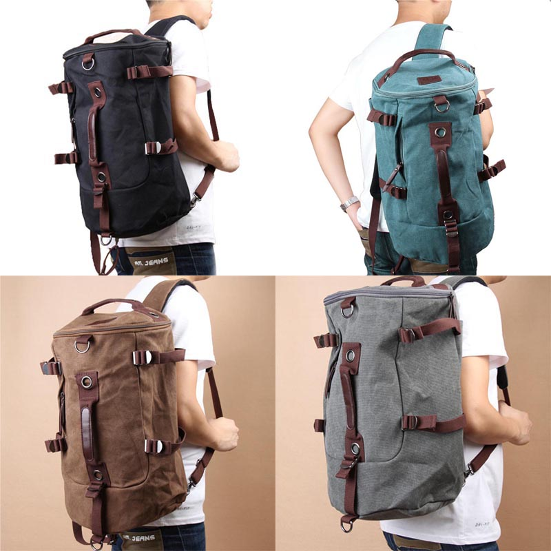 Classic Backpack Fashion For Women Shoulder Bag Mens Canvas Backpack Multi-Color Leisure Travel Bag Unisex Backpack L