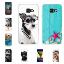 For Samsung Galaxy A3 2016 Case Soft TPU For Samsung Galaxy A3 2016 A310 A3100 A310F Cover Cute Pattern For Samsung A3 2016 Bag цена