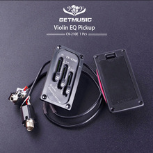 Electric Violin Pickup Adjustable Fiddle Bridge Saddle Piezo CV-210E for Project Free Shipping