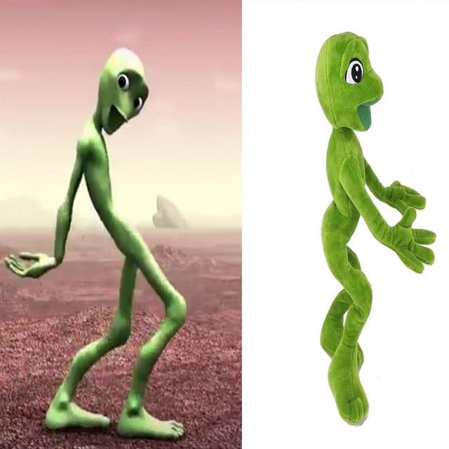 Dame Tu Cosita Skeleton Alien Move Dance Challenge Alien Popoy Martian Man Plush Toy & Stuffed Animals ET Toy skeleton toy