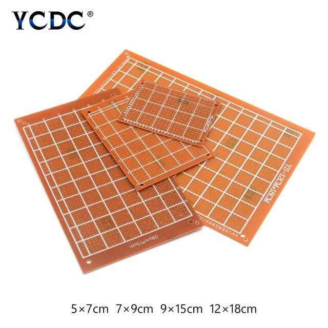 5pcs lot 5x7cm 7x9cm 9x15cm 12x18cm bakelite circuit board diy rh aliexpress com