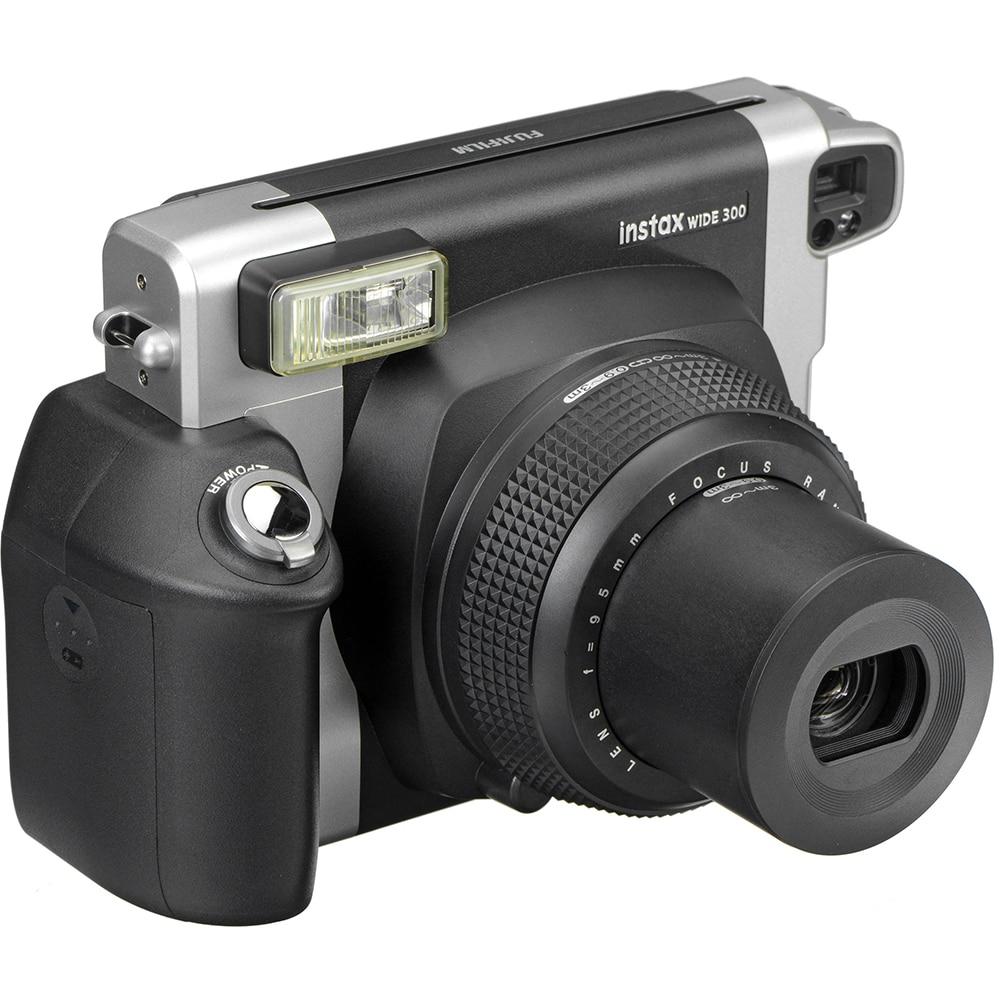 Fujifilm Instax Wide 300 Gratis Paper 20 Lembar Film Monochrome Single 100 Authentic Instant Camera Fuji 210 Plain