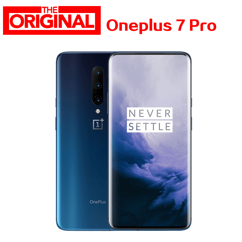 Global ROM Oneplus 7 Pro Smart phone Android 9 Snapdragon 855 6.67 Inch 3120*1440 48.0 MP 3x ZOOM Cameras 5V 6A Mobile Phone NFC Cellphones  - AliExpress