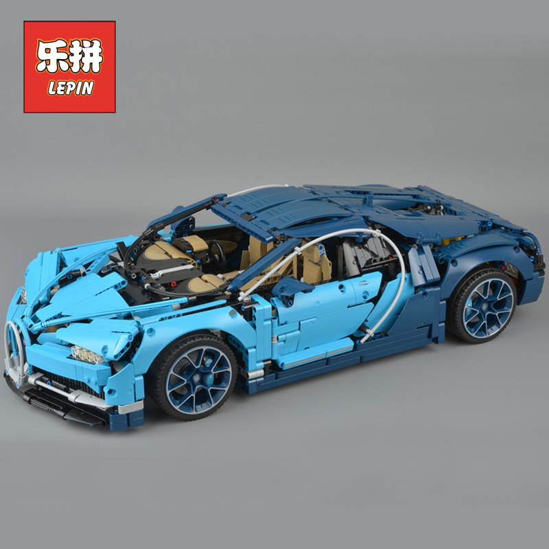 lepin Technic Series 20086 the Super Blue Racing Car Set 42083 Building Blocks Bricks Le ...