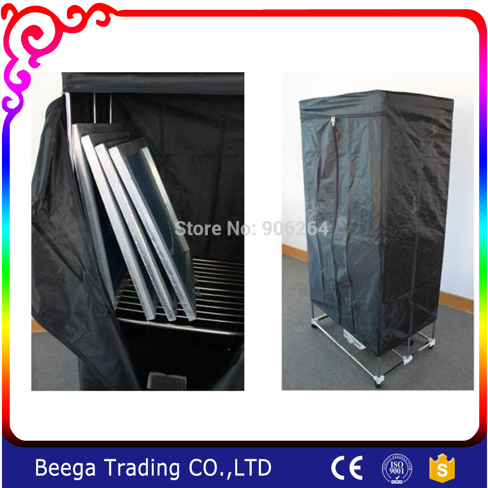 Promotion Silk Screen Printing Simple Screens Drying Cabinet Assembly Folding 110V