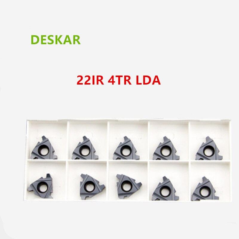 08IR AG60 LDA 10P 08IR 06IR N55 LDA// N60LDA Indexable Insert Threading Blade CNC Carbide Insert for PMK