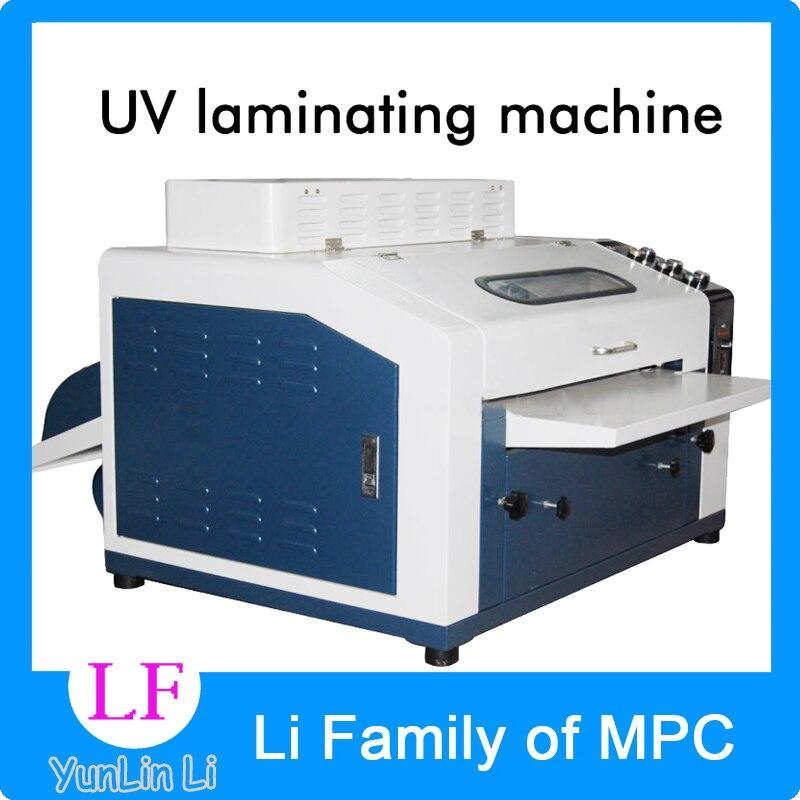 220 В УФ ламинатор 12 дюймов ламинатор профессиональная промышленная машина для рисования LM A 12