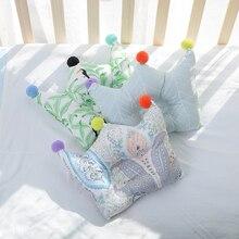 [Simfamily] Детская форменная Подушка предотвращает плоскую голову младенцы Корона постельные принадлежности подушки для новорожденных мальчиков и девочек украшения Аксессуары