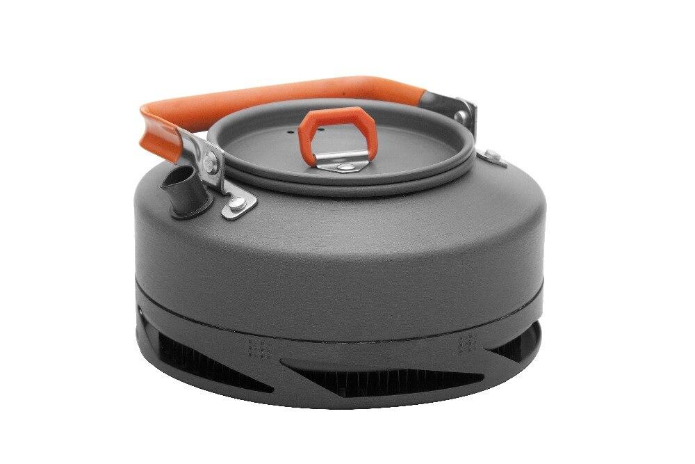 Bouilloire à échangeur de chaleur à l'érable bouilloire de Camping théière extérieure bouilloire à café vaisselle d'extérieur cruche d'eau 0.8-1.5L FMC-XT1/FMC-XT2