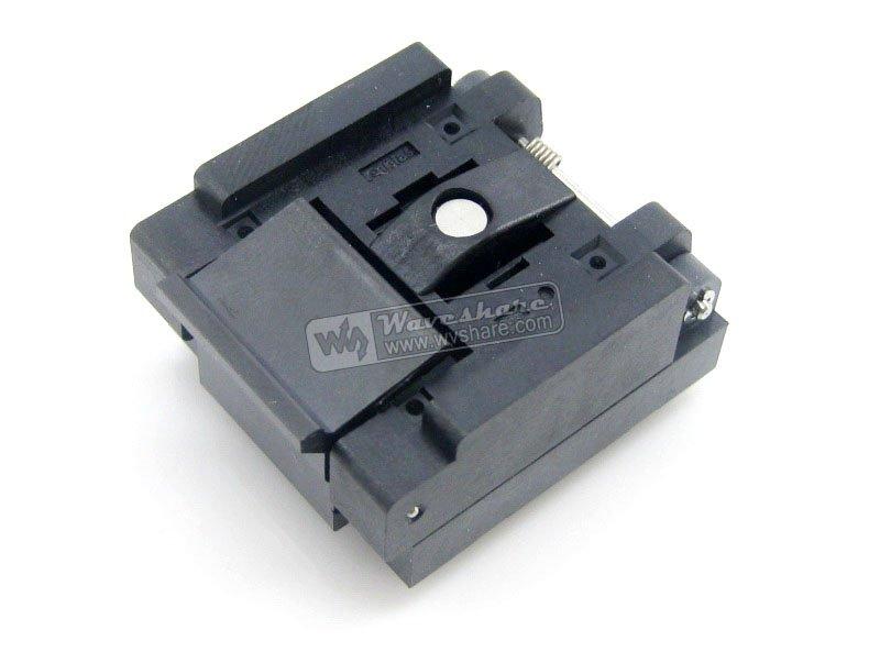 Parts QFN20 MLP20 MLF20 QFN-20B-0.5-01 QFN Enplas IC Test Burn-in Socket Programming Adapter 4x4mm 0.5mmmPitch 10piece 100% new rt8168b rt8168bgqw qfn chipset