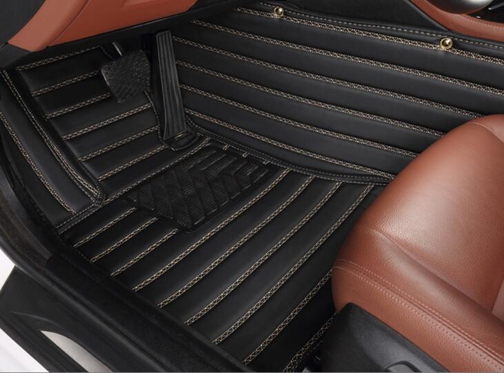 Good quality! Custom special floor mats for Audi Q3 2017 Easy to clean wear-resisting carpets for Q3 2016-2011,Free shipping