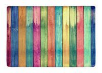 Vloermat vintage kleurrijke hout Print antislip Tapijten Tapijten alfombra Voor Indoor Outdoor living kinderkamer