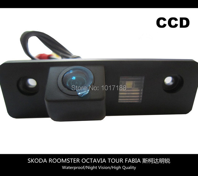 HD!! Car Rear View Parking CCD Camera For SKODA ROOMSTER OCTAVIA TOUR FABIA