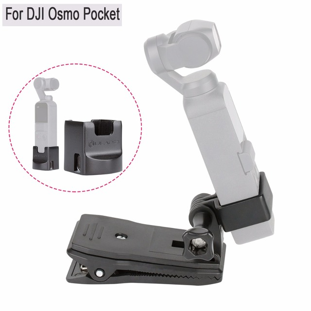 DJI Осмо карманный зажим держатель комплект OP-3 расширение неподвижная фигура кронштейн держатель w зарядки База крепление, Осмо карман аксессуары для Кардана
