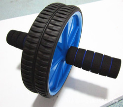 Hot double wheel ab roller gym for exercise fitness training equipment functional workout unisex color sent.jpg 250x250