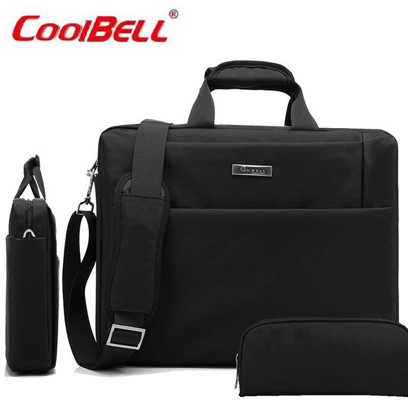 Cool Bell 15.6 Laptop Bag Notebook Shoulder Messenger Waterproof Computer Sleeve Handbag for Women Men Macbook Case-FF