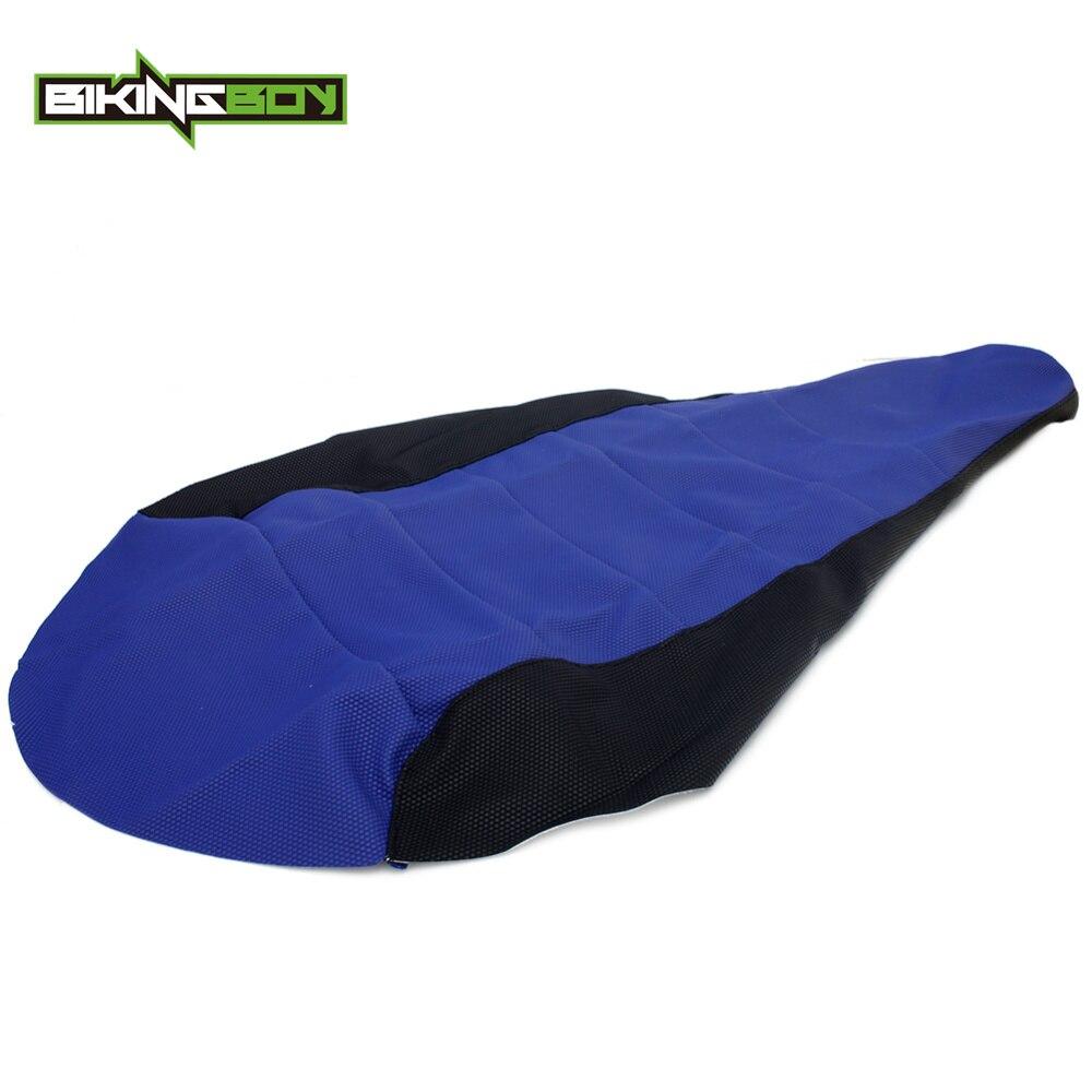 BIKINGBOY For YAMAHA YFM 700 R Raptor 2006 2007 2008 2009 2010 2011 ATV Seat Cushion Cover Gripper Soft Ribbed Replacement Quad