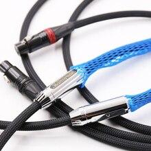 Выборг Hifi аудио 25th Классический Anniverary 770i XLR зажигания Сбалансированный соединительный кабель удлинитель