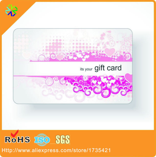 Its your gift card custom artwork cmyk 4 colors printing plastic its your gift card custom artwork cmyk 4 colors printing plastic pvc gift card printing colourmoves
