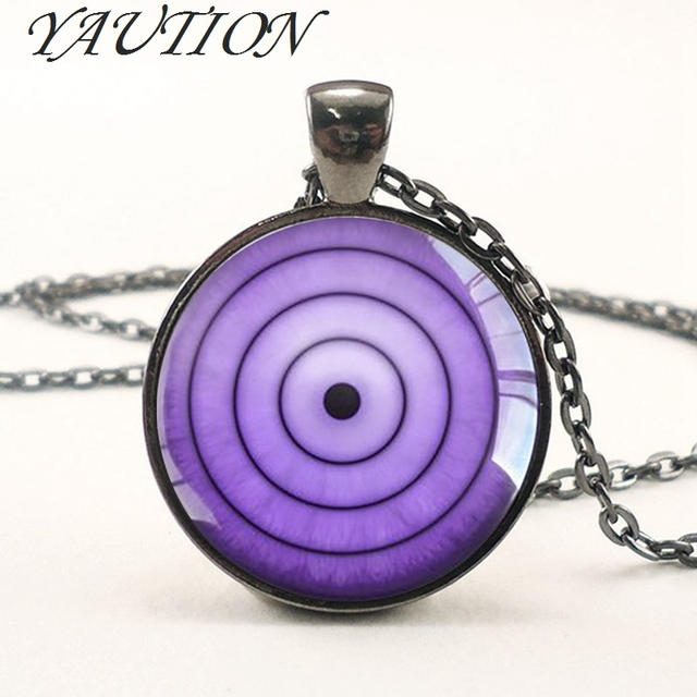 Naruto Sharingan Eye Necklace Pendants