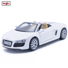 Superieur Maisto 1:24 AUDI R8 Roadster Car Diecast Alloy Model Car Toy Metal Car For