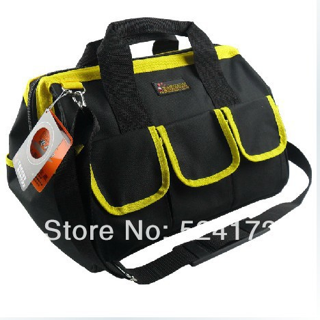 все цены на free shipping 18'' multi-function thicken Oxford Cloth Durable Portable Tools hand bag electrical maintance storage bag 61011-18 онлайн