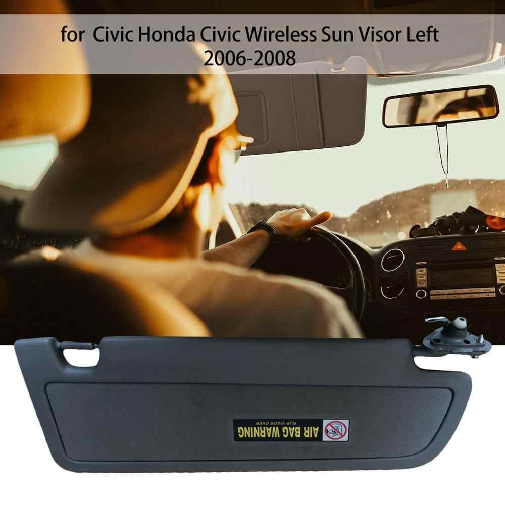 Для Honda для Civic Для Купе Седан 2006 2007 2008 Автомобильная боковая Солнцезащитная Защита от солнца противослепящий козырек без света